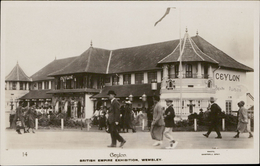 Wembley British Empire Exhibition Ceylon Photo Campbell Gray - Non Classés