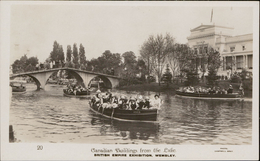 Wembley British Empire Exhibition Canadian Buildings Frm The Lake Photo Campbell Gray - Non Classés