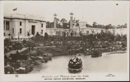 Wembley British Empire Exhibition Australia And Malaya From The Lake Photo Campbell Gray - Angleterre
