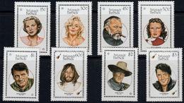 C0109 ANTIGUA & BARBUDA 1987, SG 1120-7  Entertainers,  MNH - Antigua En Barbuda (1981-...)