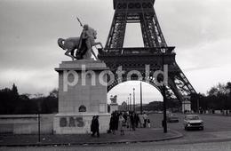 1963 EIFEL PARIS FRANCE 35mm  AMATEUR NEGATIVE NOT PHOTO NEGATIVO NO FOTO SIMCA - Other
