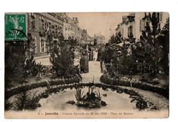 28 - JANVILLE . COMICE AGRICOLE DU 29 MAI 1910 . PLACE DU MARTROI - Réf. N°1942 - - Autres Communes