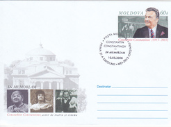 MOLDOVA ; MOLDAVIE ; MOLDAWIEN ; MOLDAU ; 2006 ; C.Constantinov ; Actor Of Theater And Cinema ; Pre-paid Envelope ; FDC. - Moldova