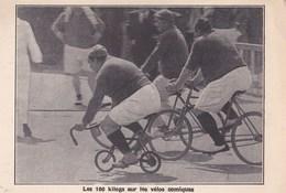 Carte Postale Aux Vélos De Gervaise à Brunoy (91)   Les 100 Kilos Sur Les Vélos Comiques - Cyclisme