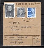Pakketkaart Herman Buitelaar Gouda > Hartendorf Bereford Spaarne Haarlem (BM) - Period 1949-1980 (Juliana)