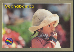 °°° GF269 - BOLIVIA - COCHABAMBA - NINO CAMPESINO - 2002 With Stamps °°° - Bolivia