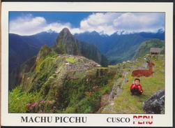 °°° GF270 - PERU - CUSCO - MACHU PICCU - 2007 With Stamps °°° - Perù