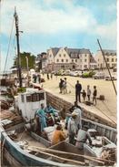LOCTUDY Chalutiers Au Port - Belle Photo Animée Colorisée - Loctudy
