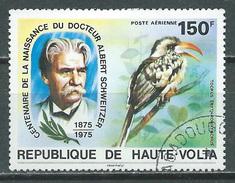 Haute-Volta Poste Aérienne YT N°190 Docteur Albert Schweitzer Oblitéré ° - Opper-Volta (1958-1984)