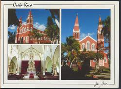 °°° GF281 - COSTA RICA - IGLESIA METALICA - With Stamps °°° - Costa Rica