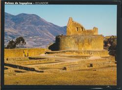 °°° GF283 - ECUADOR - RUINAS DE INGAPIRCA - 2006 With Stamps °°° - Ecuador