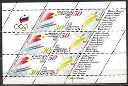 Slovenia 1992 Mi#6-7 Bogen Mint Never Hinged - Slovénie