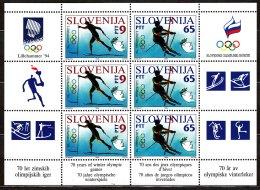Slovenia 1994 Mi#76-77 Bogen Mint Never Hinged - Slovénie