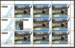 Slovenia 1999 Mi#259 Bogen Mint Never Hinged - Slovénie