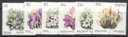 Malta 1999 Flowers Mi#1099-1104 Mint Never Hinged - Malta