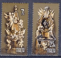 Malta 1978 Mi#569-570 Mint Never Hinged - Malta