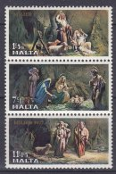 Malta 1977 Mi#559-561 Strip Mint Never Hinged - Malta