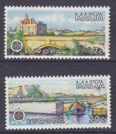 Malta 1977 Mi#554-555 Mint Never Hinged - Malta