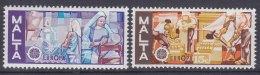 Malta 1976 Mi#532-533 Mint Never Hinged - Malta