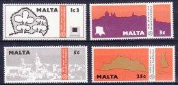 Malta 1975 Mi#514-517 Mint Never Hinged - Malta