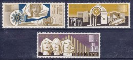 Malta 1973 Mi#478-480 Mint Never Hinged - Malta