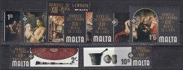 Malta 1970 Mi#401-408 Mint Never Hinged - Malta