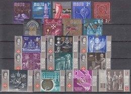 Malta 1965 Mi#301-319 Mint Never Hinged - Malta