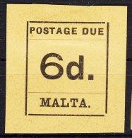 Malta 1925 Porto Mi#8 Mint Hinged - Malta