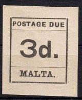 Malta 1925 Porto Mi#6 Mint Hinged - Malta