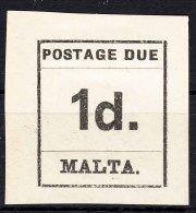 Malta 1925 Porto Mi#2 Mint Hinged - Malta
