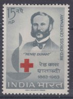 India 1963 Red Cross Mi#353 Mint Never Hinged - Inde