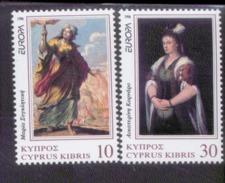 CEPT Berühmte Frauen / Famous Women Zypern 877 - 878 ** Postfrisch, MNH, Neuf - Europa-CEPT