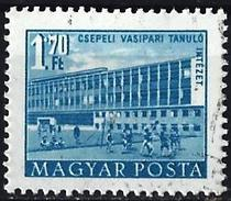 Hungary 1953 - Iron Works School In Csepel ( Mi 1313 - YT 1090 ) - Hongarije