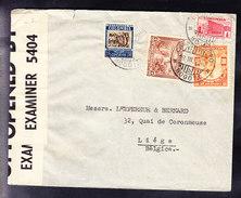 LETTRE COLOMBIE Vers BELGIQUE, CENSUREE, 29.03.1940 . (6AL486) - Colombie