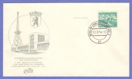 BER SC #9N108 1954 Exposition Halls FDC 08-10-1954 - [5] Berlin