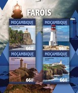 MOZAMBIQUE 2016 SHEET LIGHTHOUSES PHARES FAROS FARI FAROIS Moz16125a - Mozambique