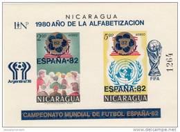 Nicaragua Hb Michel 117b - 1982 – Espagne