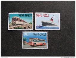 Maroc : TB  Série N° 511 Au N° 513, Neufs X. - Maroc (1956-...)