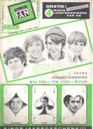 MUSIC FAN  NR 83 VAN JANUARI 1968  -  ADAMO - MONKEES - WILL TURA - HUMPERDINCK ..-. NEDERLANDS  (MF 83 ) - Magazines & Newspapers