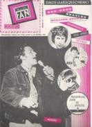 MUSIC FAN  NR 82 VAN DECEMBER 1967  -  ADAMO -. NEDERLANDS  (MF 82 ) - Zeitungen & Zeitschriften