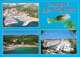 Au Pays Des Cigales - CARRY-LE ROUET (Bouches Du Rhône) - La Côte Bleue - Cartes Multi-vues - Société PEC Marseille - Carry-le-Rouet