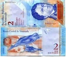 Venezuela (2007) - 2 Bolivar   P New   UNC - Venezuela