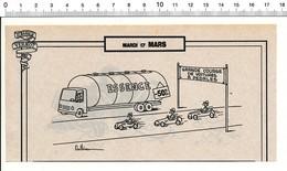 2 Scans Humour Course De Voiture à Pédales Camion-citerne Essence / Piège à Oiseau 198PF24 - Vecchi Documenti