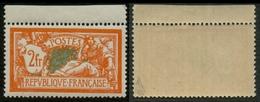 France N° 145 Neuf ** (MNH) Haut De Feuille Centrage PARFAIT - Signé Calves - Cote 262 Euros - SUPERBE - Neufs