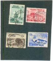 1935 BELGIQUE Y & T N° Expo De Liège  ( O ) La Série