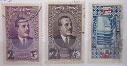 Grand Liban - YT 157 à 159 Obl - Grand Liban (1924-1945)
