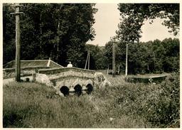 ORMOY LA RIVIERE - Le Pont Et La Juine En 1955 (photo 13x18cm Environ ). - Lieux