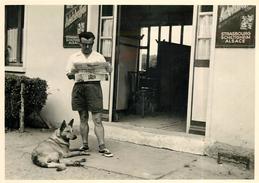 BOISSY LA RIVIERE - Souvenir De Vacances Le Café En 1956 (photo 13x18cm Environ ). - Lieux