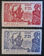Guinée - YT 151 152 * - Exposition New York 1939 - Guinée Française (1892-1944)