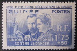 Guinée - YT 147 * - Curie - Guinée Française (1892-1944)